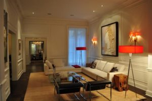 Gold coast brownstone with technology integration