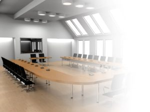 Commercial automation in meeting room