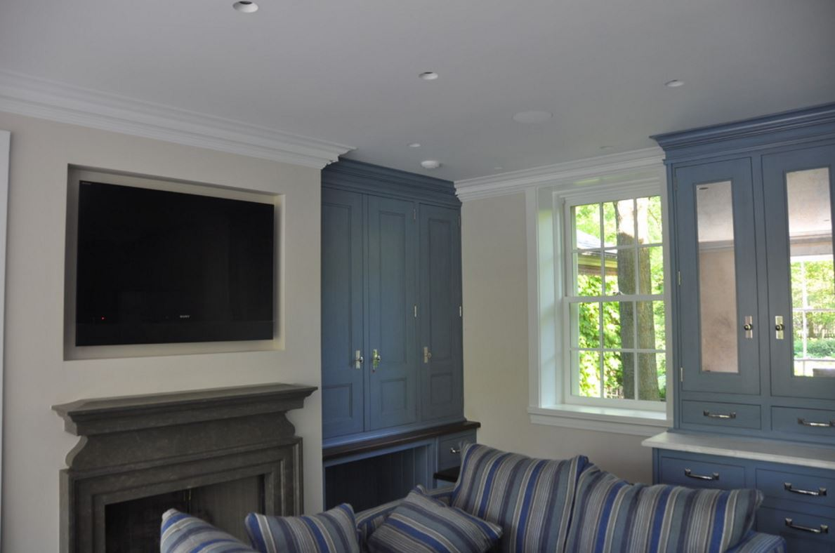 TV Mounted in Wall Chicago