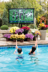 Seura outdoor television, outdoor entertainment, outdoor technology