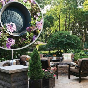 Sonance, outdoor speakers, outdoor technology, outdoor music